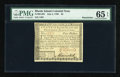 Colonial Notes:Rhode Island, Rhode Island July 2, 1780 $4 PMG Gem Uncirculated 65 EPQ....