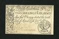 Colonial Notes:South Carolina, South Carolina April 10, 1778 2s/6d Choice New, Restoration....
