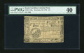 Colonial Notes:South Carolina, South Carolina December 23, 1776 $4 Fully Signed PMG Extremely Fine40....