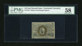 Fractional Currency:Second Issue, Fr. 1244 10c Second Issue PMG Choice About Unc 58....