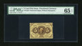 Fractional Currency:First Issue, Fr. 1229 5c First Issue PMG Gem Uncirculated 65 EPQ....