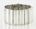 Silver Smalls:Other , A MEXICAN SILVER BRACELET. Antonio Pineda, Taxco, Mexico, circa1955. Marks: (Antonio crown), 925, STERLING, TAXCO..., (...