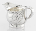 Silver & Vertu:Hollowware, AN AMERICAN SILVER CREAM JUG. Tiffany & Co., New York, New York, circa 1880. Marks: TIFFANY & CO., STERLING-SILVER, 6033 M...