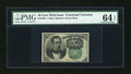 Fractional Currency:Fifth Issue, Fr. 1264 10c Fifth Issue PMG Choice Uncirculated 64 EPQ....