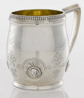 Silver Holloware, American:Cups, AN AMERICAN SILVER AND SILVER GILT CUP. Gorham Manufacturing Co.,Providence, Rhode Island, circa 1870. Marks: (lion-anchor-...