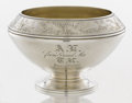 Silver Holloware, American:Bowls, AN AMERICAN SILVER BOWL. Gorham Manufacturing Co., Providence,Rhode Island, 1872. Marks: (lion-anchor-G), STERLING, E, ...