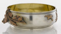 Silver Holloware, American:Bowls, AN AMERICAN SILVER, SILVER GILT AND MIXED METALS BOWL. GorhamManufacturing Co., Providence, Rhode Island, 1881. Marks: (lio...