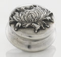 Silver Smalls:Other , AN AMERICAN SILVER AND SILVER GILT PILL BOX. George W. Shiebler& Co., New York, New York, circa 1890. Marks: (winged S),...