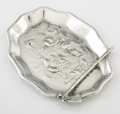 Silver Holloware, American:Desk Accessories, AN AMERICAN SILVER PIN TRAY. Unger Brothers, Newark, New Jersey,circa 1900. Marks: UB, 925 FINE STERLING, 0990. 125 x 3...