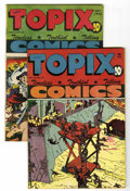 Golden Age (1938-1955):Religious, Topix V5#1 and #5 Group - Library of Congress copies (CatecheticalGuild, 1946-47) Condition: Average VF.... (Total: 2 Comic Books)