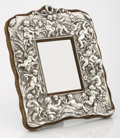 Silver Holloware, American:Desk Accessories, A VICTORIAN SILVER FRAME. William Hunter, London, England, 1897-98.Marks: (lion passant), (leopard's head crowned), (duty m...