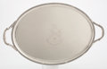 Silver Holloware, British:Holloware, A GEORGE III SILVER TRAY. John Mewburn, London, England, 1805-1806. Marks: (lion passant), (leopard's head crowned), (duty m...