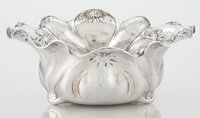 AN AMERICAN SILVER BOWL Gorham Manufacturing Co., Providence, Rhode Island, 1905 Marks: Martelé, (ea