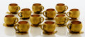 Silver Holloware, American:Cups, A SET OF TWELVE AMERICAN SILVER GILT PUNCH CUPS. GorhamManufacturing Co., Providence, Rhode Island, 1886. Marks:(lion-anch... (Total: 12 Items)