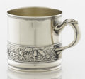 Silver & Vertu:Hollowware, AN AMERICAN SILVER AND SILVER GILT CUP. Gorham Manufacturing Co., Providence, Rhode Island, 1900. Marks: (lion-anchor-G), ...