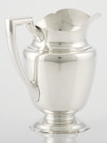 Silver Holloware, American:Pitchers, AN AMERICAN SILVER WATER PITCHER. Alvin Corporation, Providence,Rhode Island, circa 1940. Marks: ALVIN, STERLING, M498, 4...