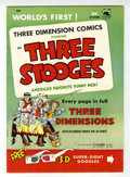 Golden Age (1938-1955):Humor, Three Stooges #2 (3-D) (St. John, 1953) Condition: VF....