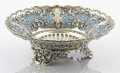 Silver Holloware, American:Bowls, AN AMERICAN SILVER GILT AND ENAMEL BOWL. Whiting Manufacturing Co.,New York, New York, circa 1910. Marks: (griffin with w),...