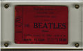 Music Memorabilia:Tickets, Beatles Atlantic City Concert Ticket. A used ticket stub from theband's August 30, 1964, performance at the Atlantic City C...