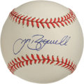 Autographs:Baseballs, Jeff Bagwell Single Signed Baseball. Lauded as a hero in Houstonfor his play with the Astros, Jeff Bagwell is a modern rar...