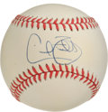 Autographs:Baseballs, Cecil Fielder Single Signed Baseball. Regarded as one of themost-feared hitters in the majors during his heyday, Cecil Fie...
