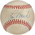 Autographs:Baseballs, Lou Brock Single Signed Baseball. Cardinals sparkplug Lou Brock hasmade the sweet spot of the provided ONL (White) ball th...