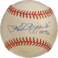 "Autographs:Baseballs, Phil Rizzuto ""HOF 94"" Single Signed Baseball. Scooter was a key cogin the New York Yankees machine of the mid-20th century..."