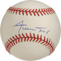 Autographs:Baseballs, Willie Mays Single Signed Baseball. One of the cleanest Mayssingles we've seen in a while, the ONL (Coleman) orb we see he...