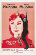 "Movie Posters:Romance, Funny Face (Paramount, 1957). One Sheet (27"" X 41""). ..."