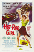 "Movie Posters:Bad Girl, Hot Rod Girl (American International, 1956). One Sheet (27"" X41"")...."