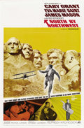 "Movie Posters:Hitchcock, North by Northwest (MGM, R-1966). One Sheet (27"" X 41""). ..."
