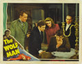 """Movie Posters:Horror, The Wolf Man (Universal, 1941). Lobby Card (11"""" X 14""""). ..."""