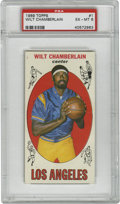 Basketball Cards:Singles (Pre-1970), 1969-70 Topps Wilt Chamberlain #1 PSA EX-MT 6. The most dominantcenter in the game's history appears in this excellent #1 ...