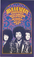 Music Memorabilia:Posters, Jimi Hendrix - (Russ Gibb Presents, 1968). For the kids of themid-west there was no Bill Graham in the 1960's to put on co...
