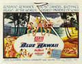 "Movie Posters:Elvis Presley, Blue Hawaii (Paramount, 1961). Half Sheet (22"" X 28""). ..."