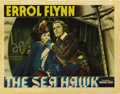 "Movie Posters:Adventure, The Sea Hawk (Warner Brothers, 1940). Lobby Card (11"" X 14""). ..."