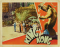 "Movie Posters:Horror, King Kong (RKO, 1933). Lobby Card (11"" X 14""). ..."