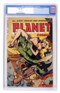 Golden Age (1938-1955):Science Fiction, Planet Comics #72 (Fiction House, 1953) CGC VG- 3.5 Off-whitepages....