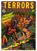 Golden Age (1938-1955):Horror, Terrors of the Jungle #18 (Star, 1952) Condition: VG/FN....