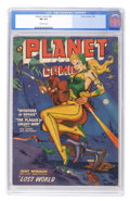Golden Age (1938-1955):Science Fiction, Planet Comics #66 (Fiction House, 1952) CGC FN 6.0 Off-whitepages....