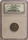 Bust Dimes, 1825 10C --Improperly Cleaned--NCS. VF20 Details. Ex:Jules ReiverCollection. JR-2. NGC Census: (0/84). PCGS Population...