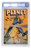 Golden Age (1938-1955):Science Fiction, Planet Comics #48 (Fiction House, 1947) CGC VG 4.0 Cream tooff-white pages....