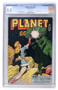 Golden Age (1938-1955):Science Fiction, Planet Comics #47 (Fiction House, 1947) CGC FN- 5.5 Off-whitepages....