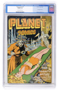 Golden Age (1938-1955):Science Fiction, Planet Comics #41 (Fiction House, 1946) CGC VG/FN 5.0 Slightlybrittle pages....