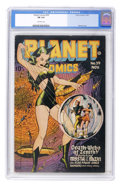 Golden Age (1938-1955):Science Fiction, Planet Comics #39 (Fiction House, 1945) CGC FN 6.0 Off-whitepages....