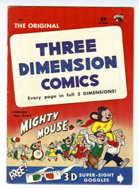 Mighty Mouse 3-D #2 (St. John, 1953) Condition: VF-