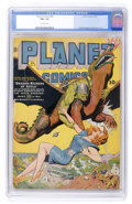 Golden Age (1938-1955):Science Fiction, Planet Comics #29 (Fiction House, 1944) CGC FN+ 6.5 Off-whitepages....