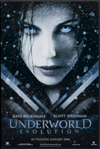 """Underworld: Evolution Lot (Screen Gems, 2006). One Sheets (6) (27"""" X 40"""") DS and SS. Horror/Action. ... (Total..."""