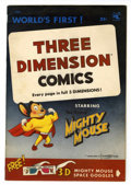 Golden Age (1938-1955):Cartoon Character, Mighty Mouse 3-D #1 (St. John, 1953) Condition: VF....