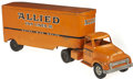 Antiques:Toys, Tonka Allied Van Lines Truck and Trailer....